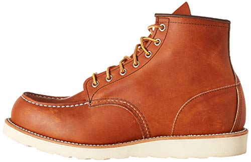 """Red Wing Heritage Men's 6"""" Classic Classic Moc Toe Boot, Oro Legacy, 10 M US"""