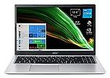 "Acer Aspire 3 A315-58G-5450 PC Portatile, Notebook con Processore Intel Core i5-1135G7, RAM 8 GB DDR4, 512 GB PCIe NVMe SSD, Display 15.6"" FHD LED, NVIDIA GeForce MX350 2 GB, Windows 10 Home, Silver"
