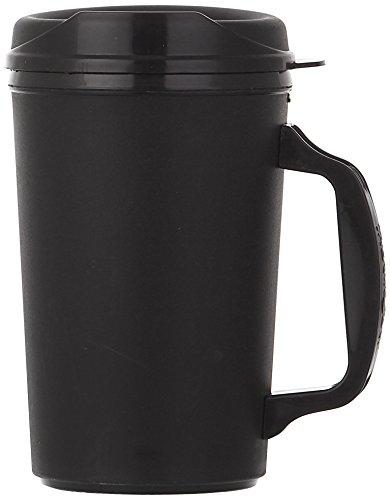 ThermoServ Foam Insulated Mug, 20-Ounce, Black