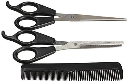 Detaillierte 1 Satz regelmäßigen Friseur Friseursalon Schere Edelstahl Schere Set Werkzeug for Frauen Männer Haarpflege Ausdünnen Dauerhaft