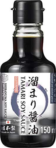 Shibanuma Salsa de Soja Tamari Sin Gluten (Tamari Shoyu) 170 g