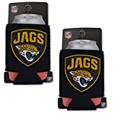 Official National Football League Fan Shop Authentic 2-Pack NFL Insulated 12 Oz Can Cooler (Jacksonville Jaguars)