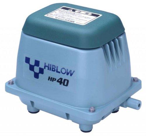 HiBlow Luftpumpe HP-40 40l/min bei 1,3m, Ausgang 18mm, 38 Watt
