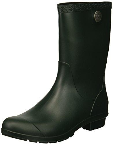 UGG Women's Sienna Matte Rain Boot, olive, 7 M US