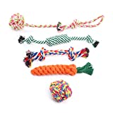MorNon Dog Rope Toys For Strong Dogs Dogs Indestructible Durable For Tug Of War Teeth Cleaning Tough Odourless Cotton