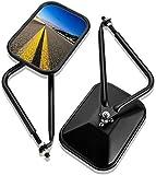 Specchietto Retrovisore J-eep Wrangler JK CJ YJ TJ JL JKU JLU 1945-2021 Illimitato Sport Sahara Rubicon [Destra/Sinistra] Specchietto Laterale Specchio a Sgancio Rapido.