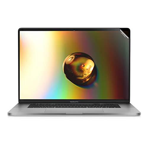 kwmobile Pellicola Protettiva per Display Opaca e ANTIRIFLESSO con Effetto Anti-Impronte per Apple MacBook PRO 16' - qualità Premium