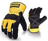 DeWalt Rigger General DPG41-L - Guantes, tamaño 10, color negro/ amarillo