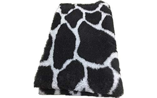Vetbed -/ Drybed I Girafe Noir/gris I 75 x 100 cm