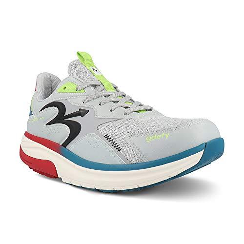 Gravity Defyer Men's G-Defy Energiya 12 W US - Hybrid VersoShock Performance Shock-Absorbing Cross-Trainer Shoes Gray,Blue