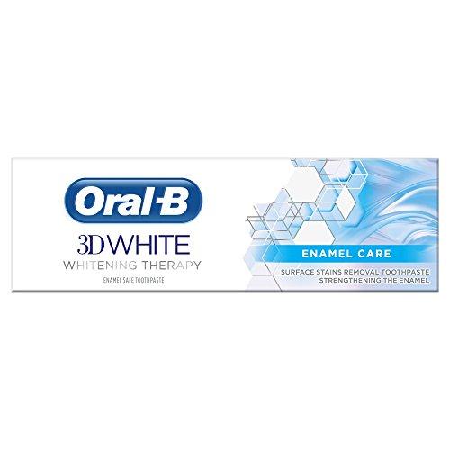Oral B Zahnpasta 3D White Therapy Schutz Emaille – Tube mit 75 ml