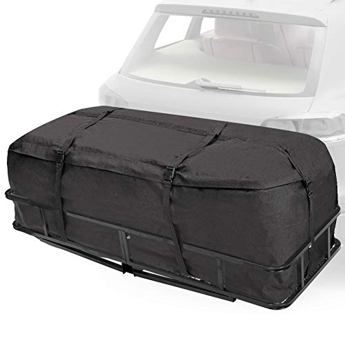 Hitch Rack Cargo Carrier Bag, Expandable...