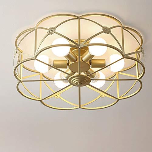 JYDQM Creativo Moderno de la Ronda de la lámpara de Techo, Dormitorio, Sala de Estar de la decoración Interior iluminación