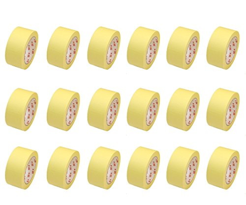 Heimwerker-Produkte 18 Rollen Flachkrepp Abklebeband Malerband Bild