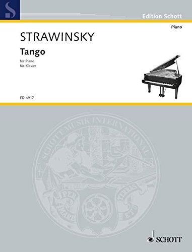 Tango: für Klavier solo. Klavier. (Edition Schott)
