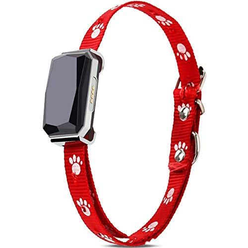 Rastreador GPS para Mascotas Localizador De Mascotas Beidou GPS Collar De Posicionamiento para Mascotas Rastreador De Perros Multifunción Rastreador De Alarma De Posicionamiento Anti-Pérdida Buscador