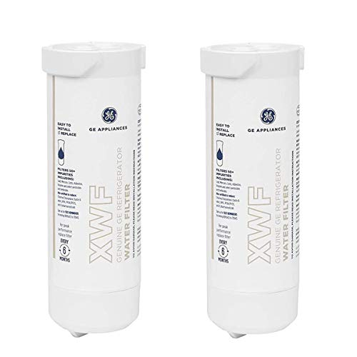 XWF Refrigerator Water Filter Replacement for GE Refrigerator Water Filter XWF Water Filter-2 Pack