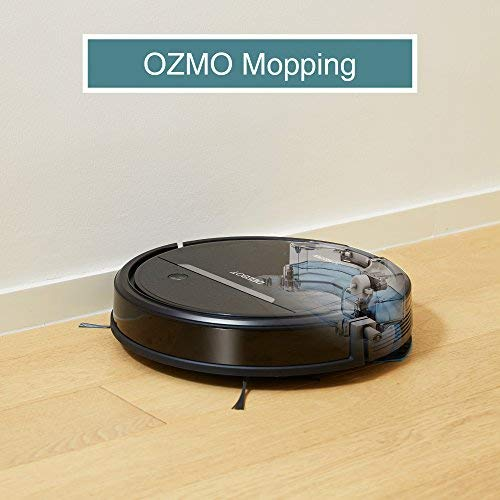 ECOVACS OZMO 601 Self-Charging Robot Mop & Vacuum with Smart Phone App Controls, Auto-Clean Mode, 2 Specialized Cleaning Modes, Digital Mopping System for Pet Hair, Dirt, Dried Liquids & Hard Floors