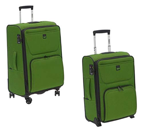 Stratic Bendigo groen - trolley-kofferset - 2-delig 68 cm + 55 cm (cabinetrolley)