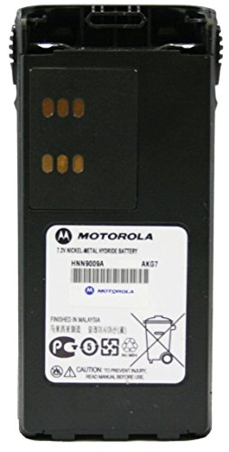 New MOTOROLA OEM HNN9009 BATTERY 7.2V NI-MH 1900 MAH works with for HT750 HT1250 HT1250LS PR860 MTX850 MTX950 MTX9250 MTX8250 HT1550Radio