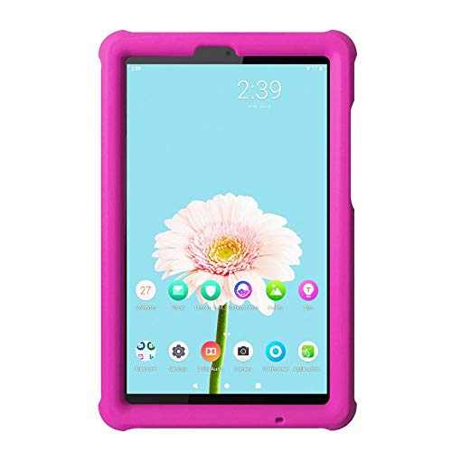 Silicone Case For Lenovo Smart Tab M8 Rugged Shockproof Protection Cover For Lenovo Tab M8 2nd HD 8.0 inch Tablet-Pink