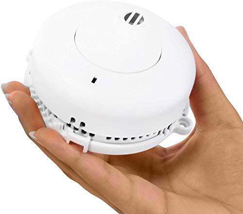 Rauchmelder Feuermelder Brandmeldmelder Melder mit 9V Batterie 5 Jahre