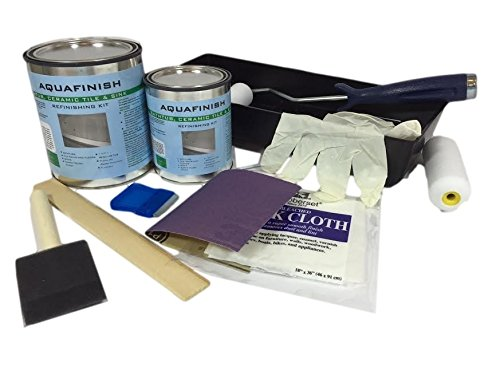 AquaFinish 32 oz Bathtub and Tile Refinishing Kit