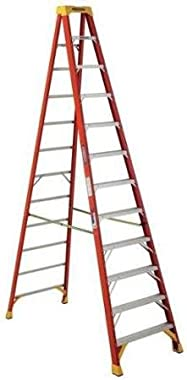 Werner 12 ft. Fiberglass Stepladder , 6212