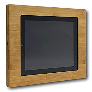 NobleFrames Tablet Wall Mount fürs Smart Home, kompatibel mit Apple iPad 2, 3 und 4 aus Bambus