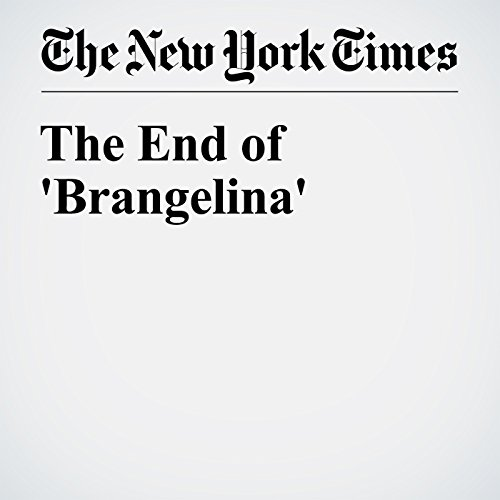 The End of 'Brangelina' cover art
