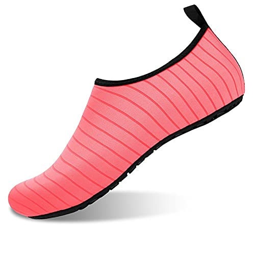 WEIXINMWP Zapatos de Deportes acuáticos para Hombres y Mujeres Descalzos de Secado rápido de Agua de Yoga Calcetines de Yoga Estilo,5,44/45