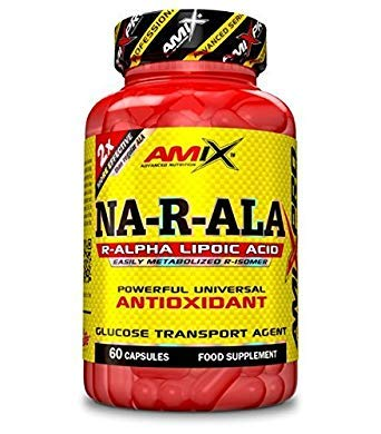 AMIX NA-R-ALA ANTIOXIDANT (60 CAPS)