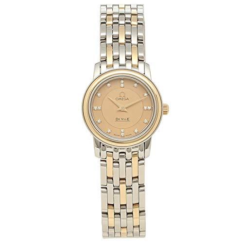 [オメガ]時計 OMEGA 4370.16 デヴィル プレステージ DE VILLE PRESTIGE 22MM クォーツ レディース腕時計ウォッチ ゴールド [並行輸入品]