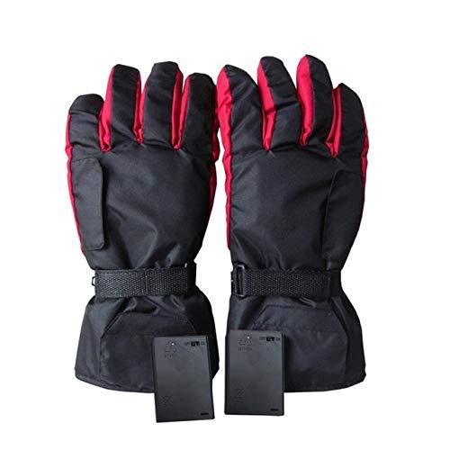Bruce Dillon Guanti guanti per riscaldamento auto elettriche controllo temperatura sport moto guida inverno caldo - Nero X A4