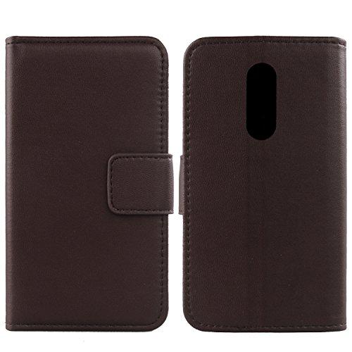 Gukas Design Echt Leder Tasche Für ZTE AXON 7 Quad Core 5.5
