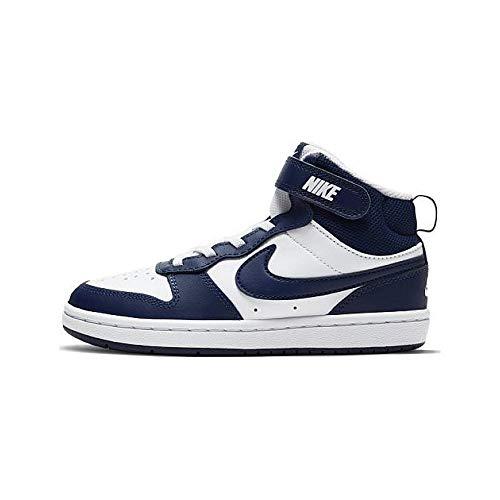 Nike Jungen Unisex Kinder Court Borough Mid 2 Running Shoe, Multicolor, 31 EU