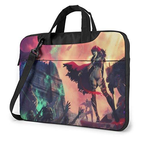 World Warcraft Horde Laptop Sleeve Laptop Bag Tablet Briefcase Ultraportable Protective Handbag Oxford Cloth-for MacBook Pro/MacBook Air/Notebook Computer 13 Inch
