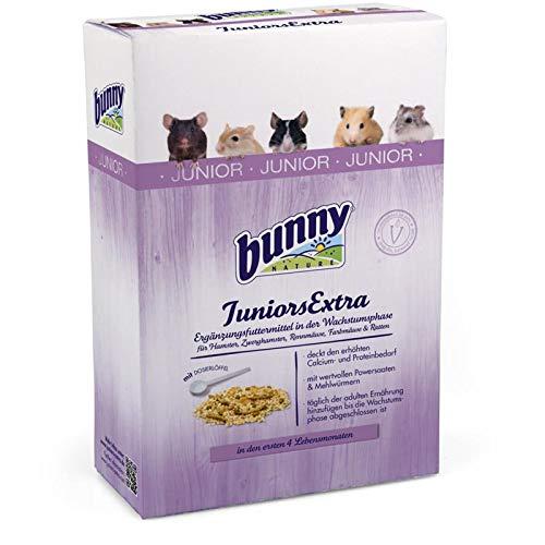 Bunny Juniors Extra Granivor | 150g Ergänzungsfutter für Kleinnager