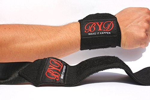Beyond Dreams Bandagen + kostenlose Lieferung | Handgelenkbandage | Handgelenkstütze | Handgelenkschoner | Bandagen für Bodybuilding + Fitness + Crossfit - 5