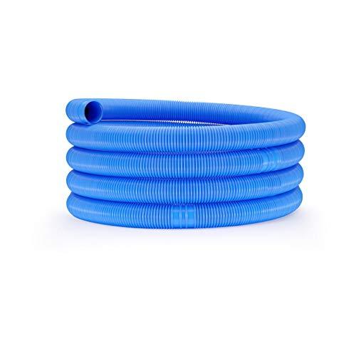 Uniprodo Uni_Pool_Hose_32/6 Poolschlauch 32mm blau Schwimmbadschlauch 6 m Schwimmbeckenschlauch Solarschlauch