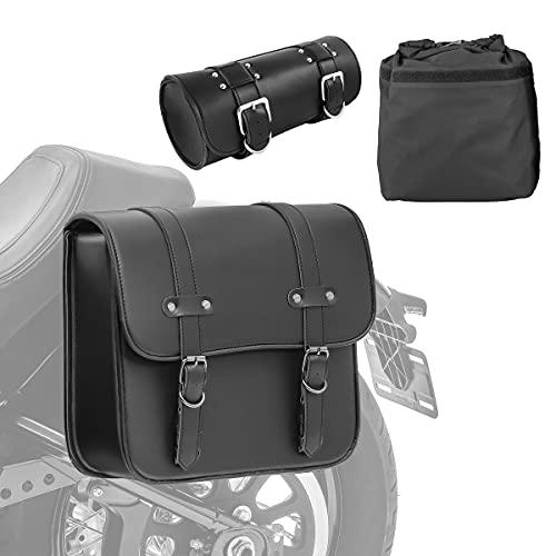 Set RBT Bissaccia laterale + Borsa barilotto per Moto Guzzi V9 Bobber/Roamer