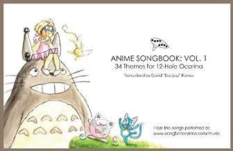 Anime Songbook for 12 Hole Ocarina