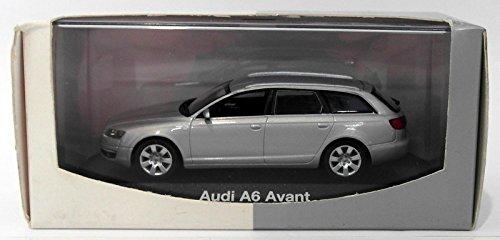 Audi A6 Avant (C6), silber , 2004, Modellauto, Fertigmodell, Minichamps 1:43