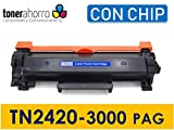 Toner Compatible con Cartucho Tn2420 / Tn2410 con Chip Alta Capacidad, Impresoras DCP L2510D, DCP L2530DW, HL L2310D, HL L2350DN, Envío Desde Madrid