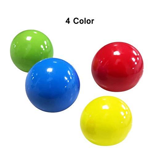 Stress Relief Balls, Sticky Wall Ball Sticky Target Ball, Sensory Toys Stress Ball, Handübungen Stress Balls, Relief Toys Perfekt für Kinder Erwachsene Toss and Catch Games