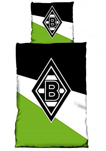 Bertels 1/055442 Borussia Mönchengladbach Bettwäsche Schrägstreifen