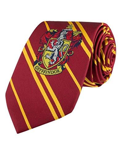 Cinereplicas - Harry Potter - Cravate Gryffondor - Écusson tissé - Taille Enfant - Authentique - Licence Officielle