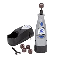 PET NAIL GROOMER AND GRINDER - This rotary tool is a pet nail groomer and grinder that offers a safe, effective, less stressful alternative to using clippers on your dogs nails. Material: High Density Plastic. Battery Chemistry: Nickel-Cadmium (NiCd)...