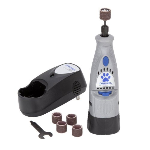 Dremel 7300-PT 4.8V Cordless Pet Dog Nail Grooming...