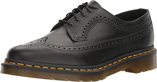 Dr. Martens 3989 YS Wingtip Brogue Black Smooth 22210001, Straßenschuhe - 40 EU